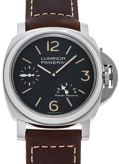 パネライ ルミノール 8デイズ パワーリザーブ アッチャイオ PAM00795 ブラック