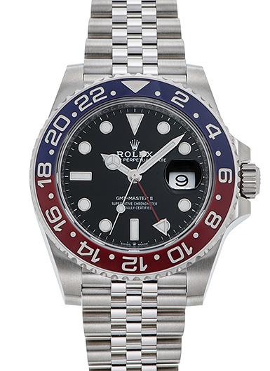 ロレックス GMTマスター� 126710BLRO ブラック