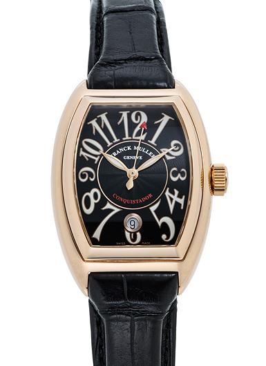 purchase cheap 13d10 d5615 フランク・ミュラー コンキスタドール 8001SC ブラック USED ...