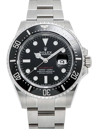 ロレックス シードゥエラー 126600 ブラック 新品 44567