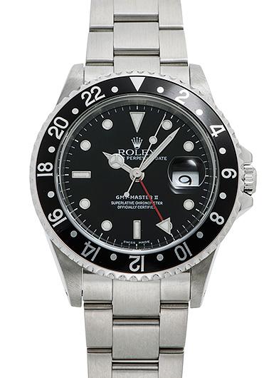 ロレックス GMTマスター� 16710 ブラック USED 45196