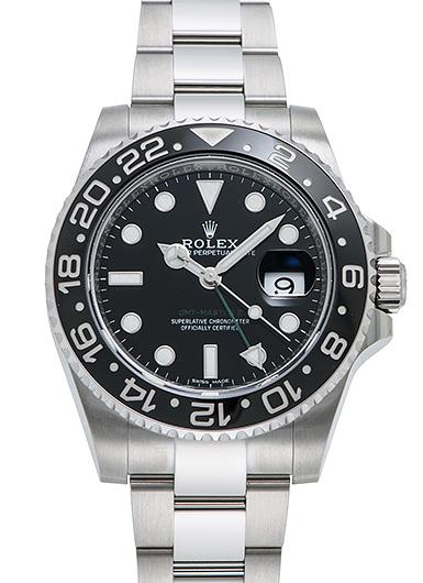 ロレックス GMTマスター� 116710LN ブラック 新品 45622