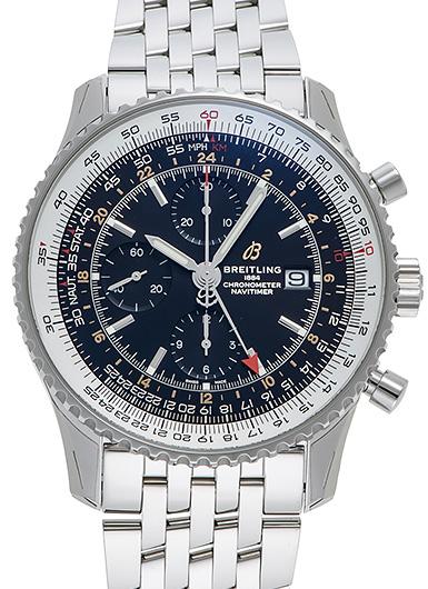 ナビタイマー 1 クロノグラフ GMT 46 A24322121B2A1