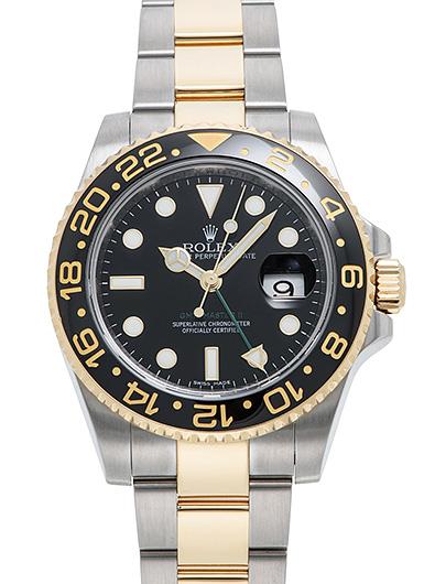 ロレックス GMTマスター� 116713LN ブラック USED 46242