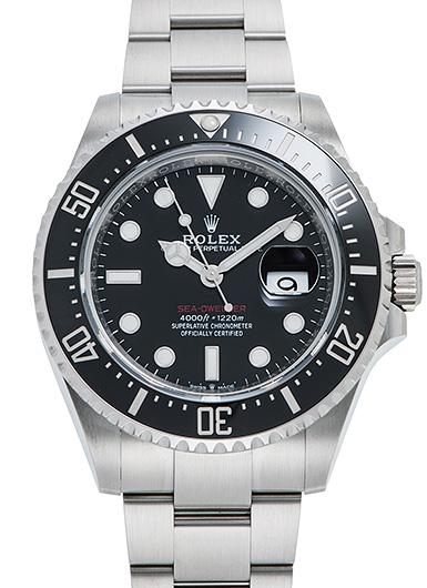 ロレックス シードゥエラー 126600 ブラック USED 46360