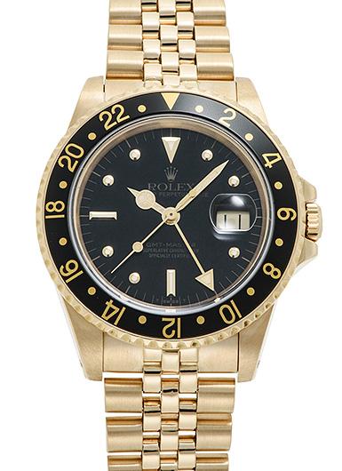 ロレックス GMTマスター 16758 ブラック アンティーク 46812