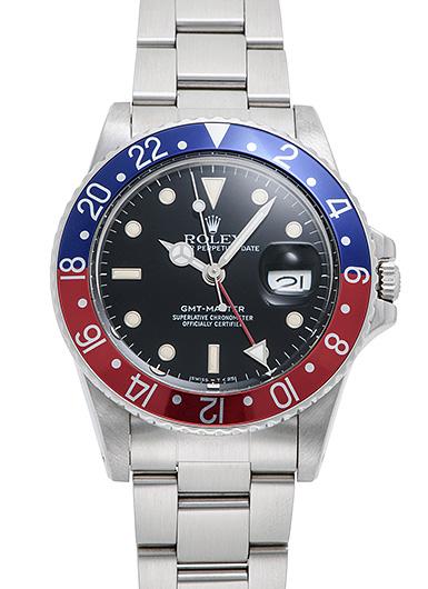 ロレックス GMTマスター 16750 ブラック アンティーク 46815