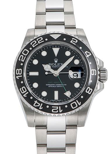 ロレックス GMTマスター� 116710LN ブラック USED 48197