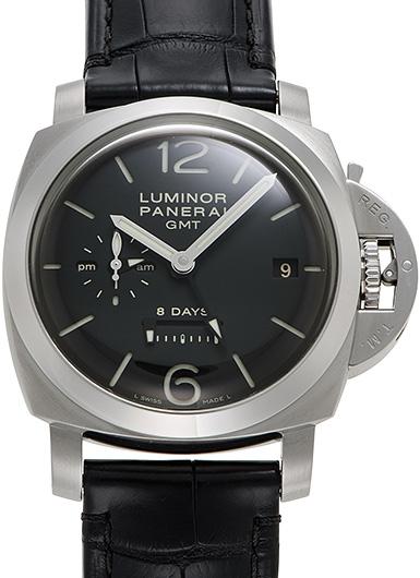 パネライ ルミノール1950 8デイズ GMT PAM00233 ブラック